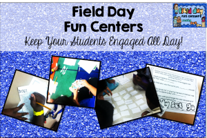 Field Day Centers {Keep Them Engaged All Day!}