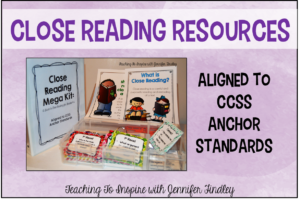 Close Reading Resources {Mega Kit}