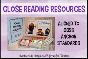 Close Reading Resources {Mega Kit}
