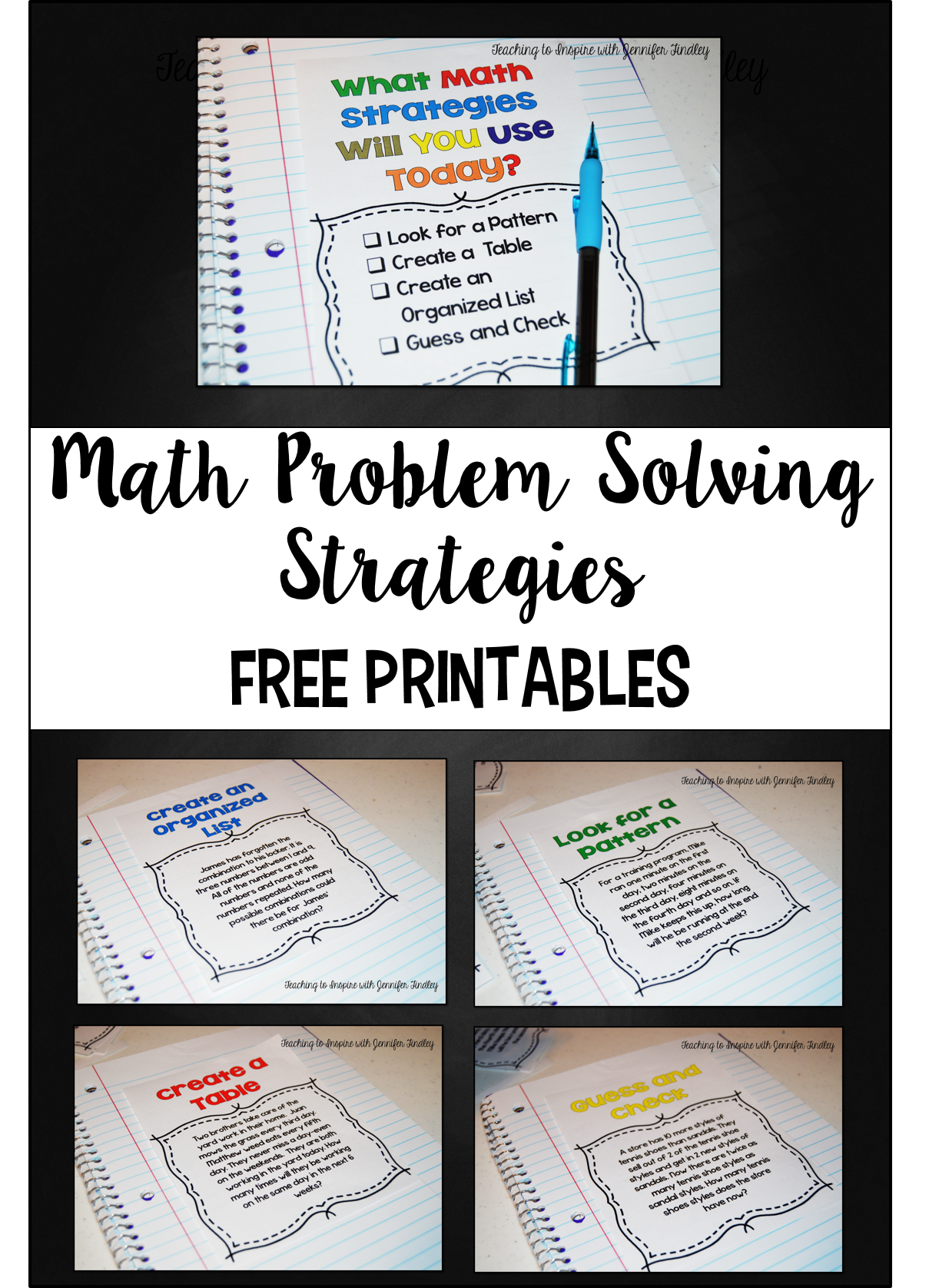 math problem solving strategies teaching to inspire with