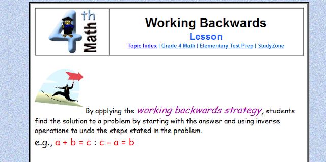 What's Your Math Problem? Chapter 6 *Advanced Thinking Strategies*