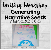 Writing Workshop Idea for Gathering Seeds: I Bet You Didn't Know!