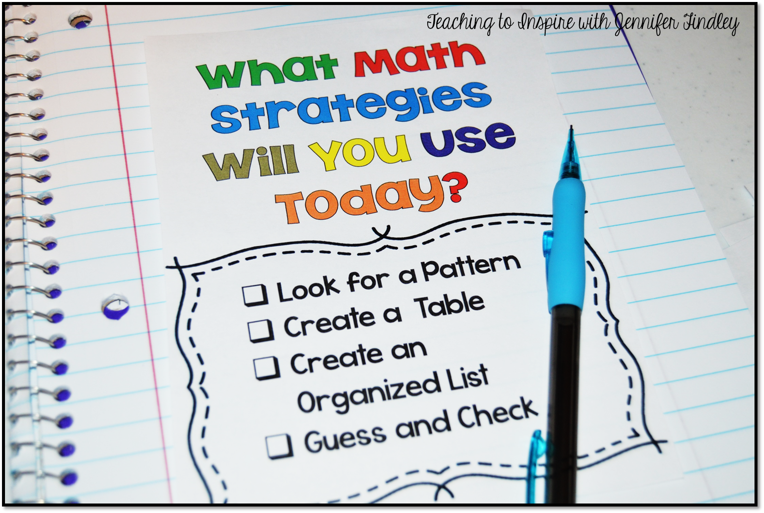 math strategies