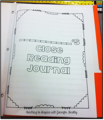 Close Reading Journal