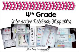 4th Grade Interactive Math Notebooks