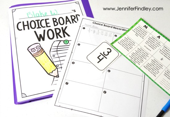 Do you use choice boards to differentiate and engage your students? If so, grab these FREE choice board resources to help you and your students assess the work.