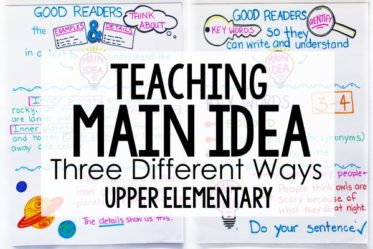 Do your students struggle to master determining the main idea of nonfiction text? This post shares three different ways that I teach my students to identify the main idea of a text. Teaching main idea of nonfiction text will hopefully be a little easier with these new strategies!