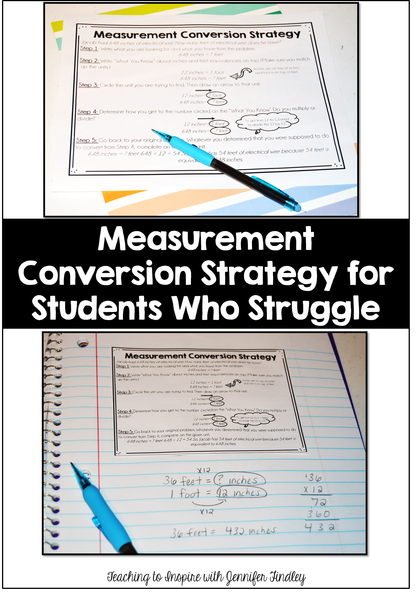Measurement conversions for kids who just dont get it teaching measurement conversion strategy nvjuhfo Images