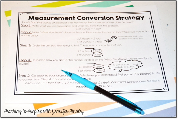Measurement Strategy Poster