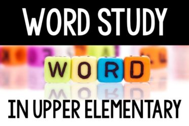 "Want to change up your spelling instruction or simply look into incorporating word study? This post shares how I teach word study and spelling words in my 5th grade classroom. This word study ""program"" works well in upper elementary grades."