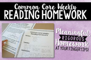 Common Core Reading Review Homework