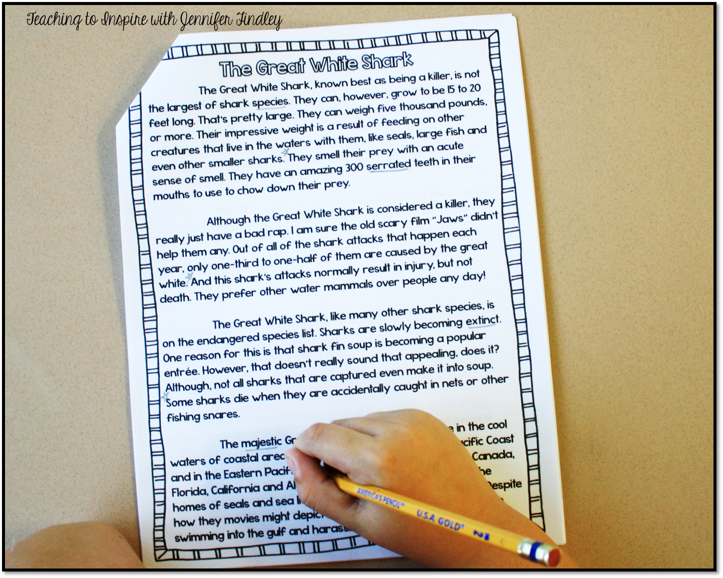 Writing A Lab Report Middle School Science - The Yellow Cabin grade ...