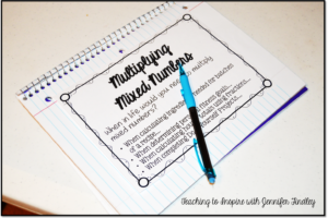 Multiplying Mixed Numbers: Free Printables {Math is Real Life}