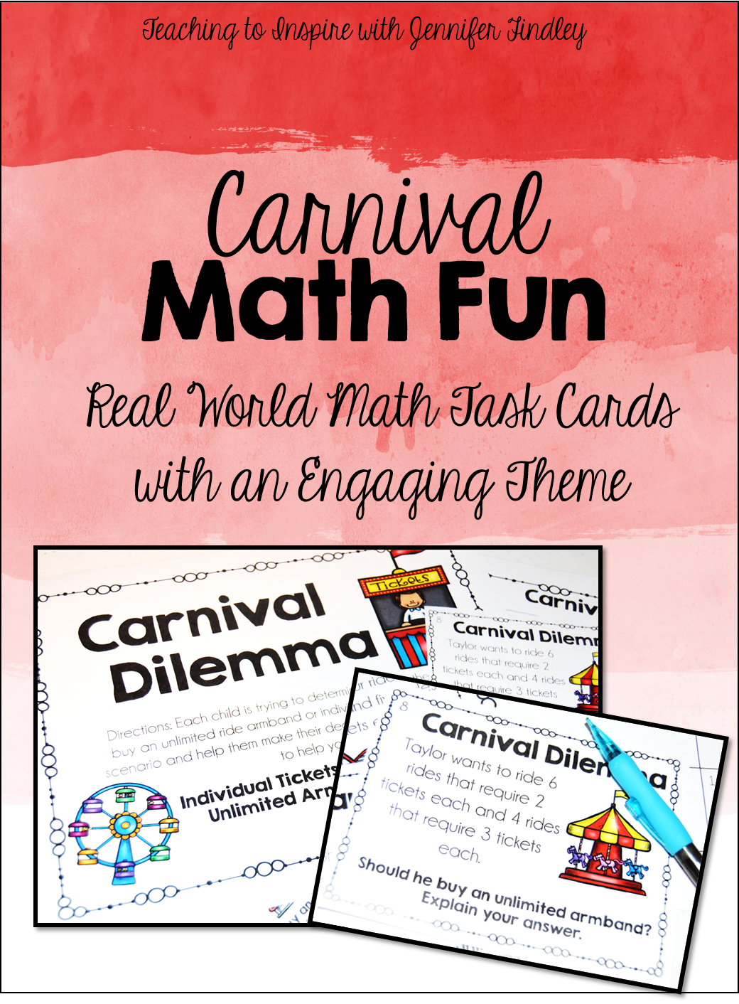 Carnival Math Freebies