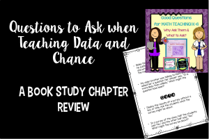 Good Questions for Math Teaching {Data and Chance}