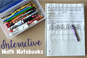 Interactive Math Notebooks: Word Problems
