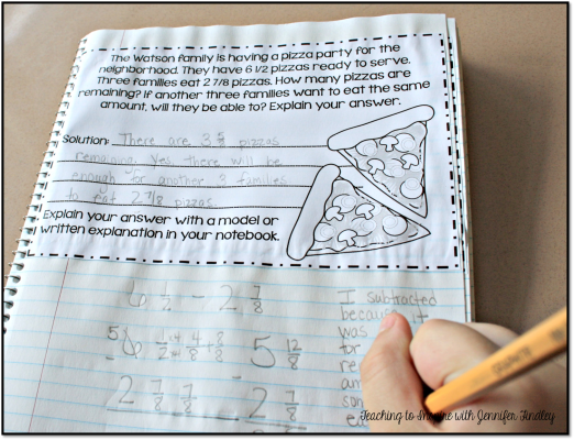 Using Word Problems in Interactive Math Notebooks (Regularly ...