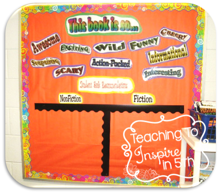 Ways to Have Students Share Their Reading : Book Recommendation Board