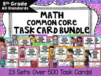 https://www.teacherspayteachers.com/Product/5th-Grade-Math-Common-Core-Task-Cards-Complete-Set-All-Standards-Bundle-295858