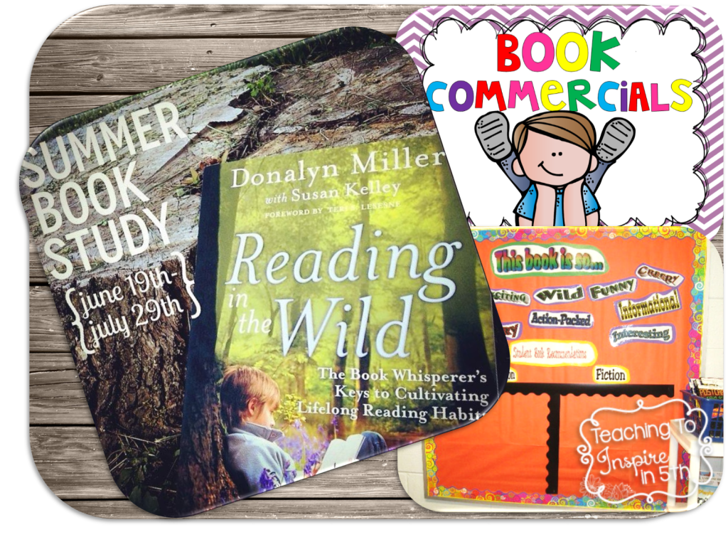 Reading in the Wild Book Study {Readers Share Books and Reading with Others}