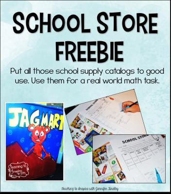 School Store Freebie Main