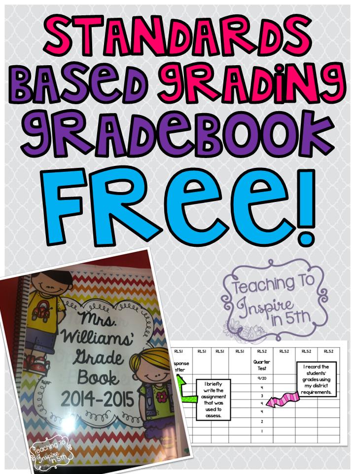 Common Core Gradebook {Free!}