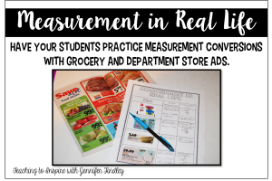 Measurement Conversions Activity {Freebie}