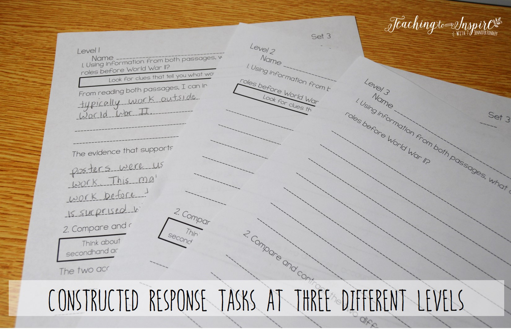 Help all students succeed with paired passages with these differentiated and scaffolded resources.