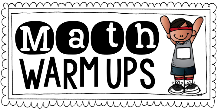 Math Warm Ups {Guest Post: Freebie & Giveaway!}