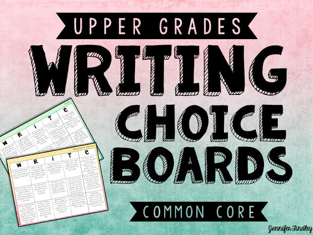 Writing Choice Boards