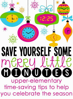 Merry Little Time Saving Tips Linky {and a Freebie!}