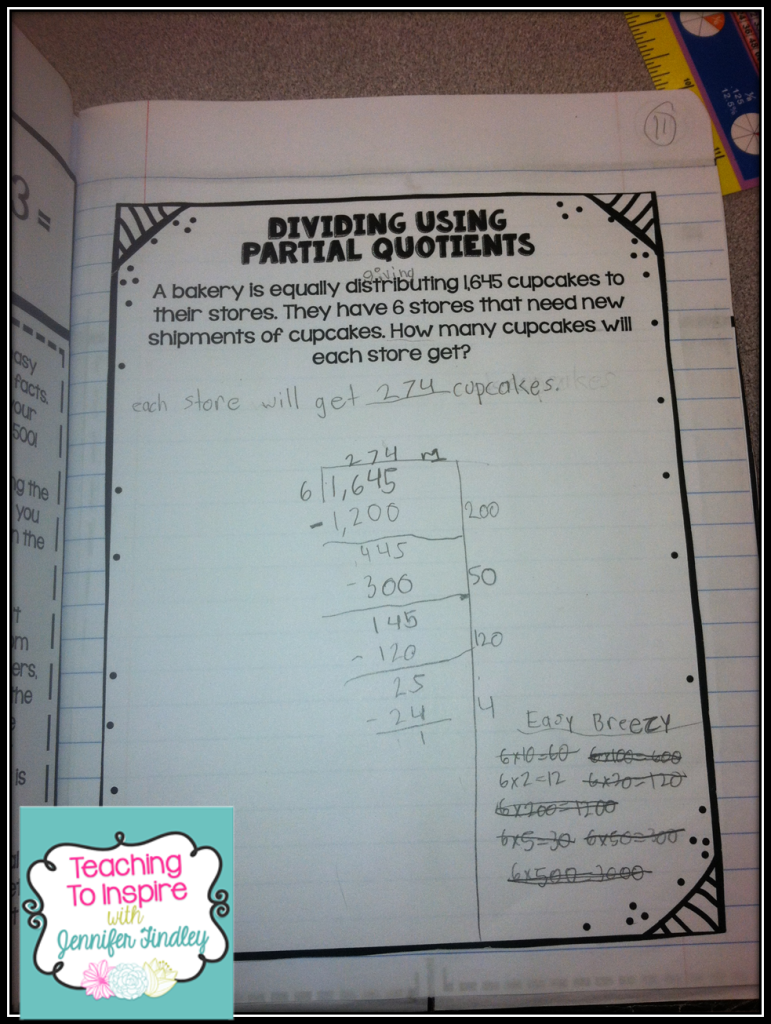 Exelent Long Division Poster With Steps Crest - Math Worksheets ...