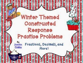 http://www.teacherspayteachers.com/Product/Winter-Themed-Constructed-Response-Practice-Problems-Common-Core-Aligned-400345