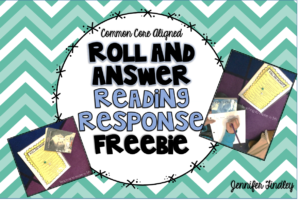5th Grade Reading Center {Low Prep and FREE!}