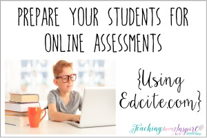 Preparing Students for Online Assessments {Online Test Prep}