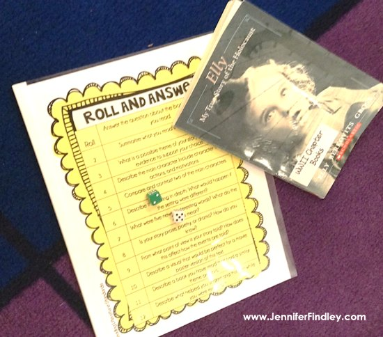 FREE 4th and 5th Grade Reading Centers to use with ANY text! Read more and grab the free reading centers to use with any book or passage that the students are reading. These free reading centers are perfect for literacy centers, reading stations, reader's response, or during guided reading rotations.