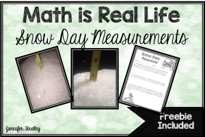 Measurement Freebie {Winter Themed}