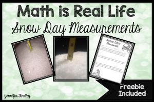 Measurement Freebie {Winter Themed}