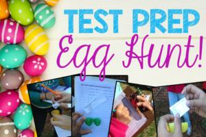 Test Prep Egg Hunt Activity