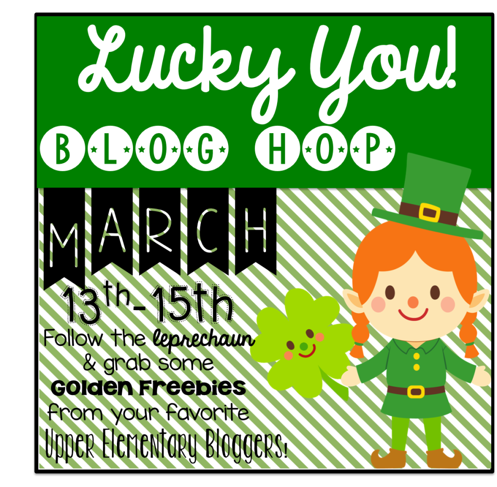 Lucky You! St. Patrick's Day Freebies