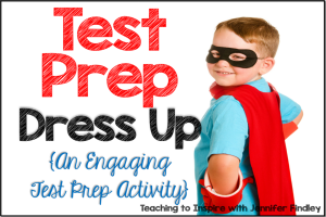 Test Prep Dress Up – Engaging Test Prep