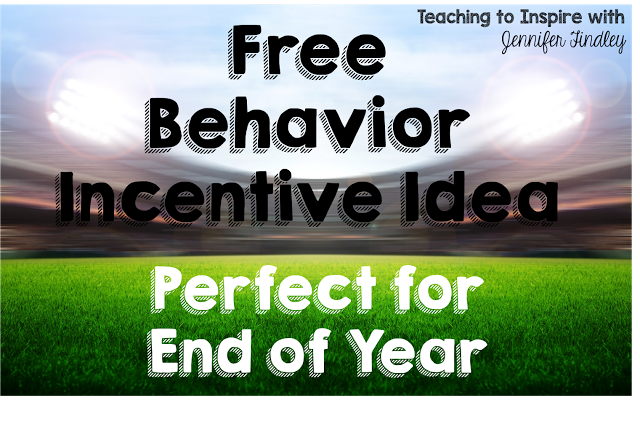 Behavior Incentive for End of Year