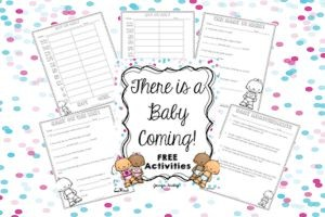 New Nephew & Free Baby Printables for the Classroom