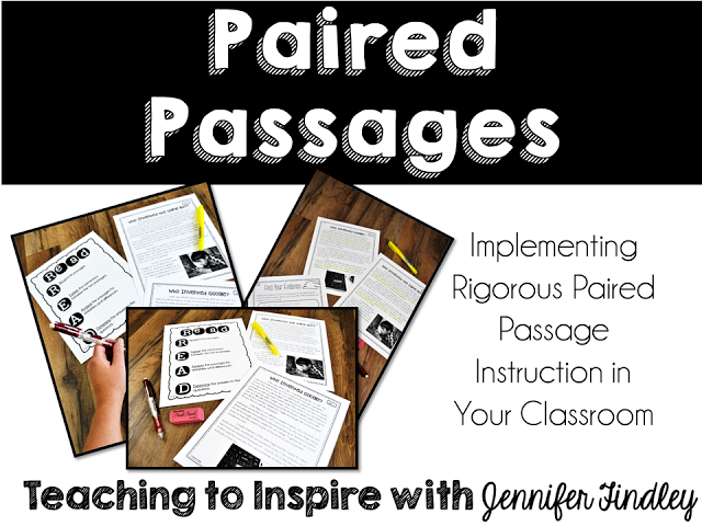 Implementing Rigorous Paired Passage Instruction