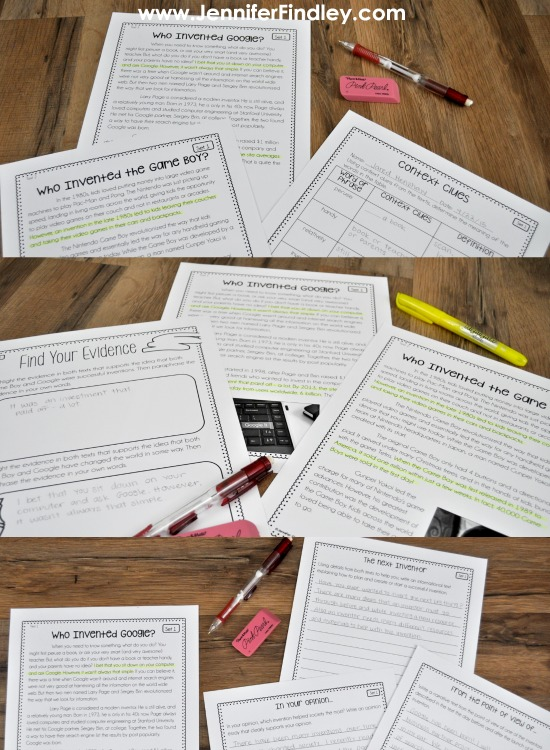 Step-by-step paired passage instruction for 4th and 5th graders! Instruction using paired passages can be tricky but the step-by-step process that this post shares will break down the process for you and your students. Click through to read more and grab some free paired passage teaching posters.