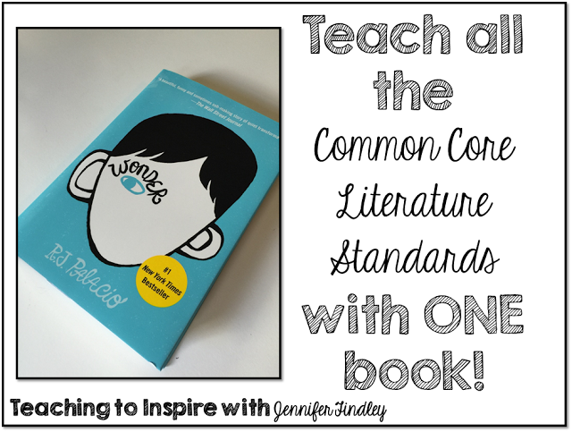 Using Wonder to Teach All the Common Core Literature Standards