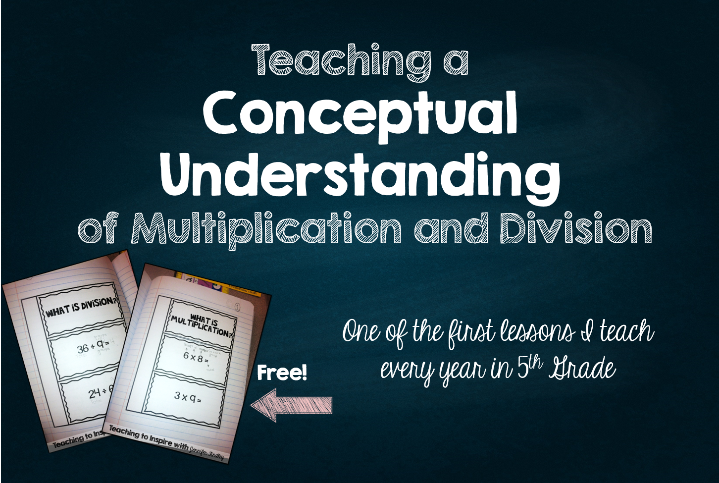 Worksheet How To Teach Simple Division teaching a conceptual understanding of basic multiplication and division freebies