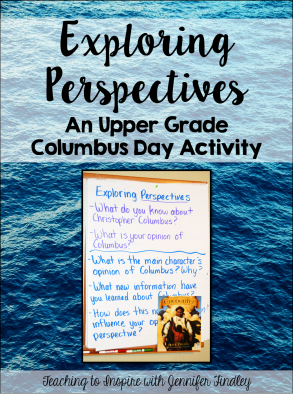 Columbus Day Activity for Upper Grades Main