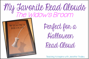 The Widow's Broom: A Halloween Read Aloud for Upper Grades