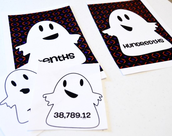 Free Halloween math activity for 5th grade! Embrace your students' excitement with this themed Halloween math center.